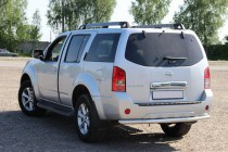 Дуга заднего бампера Nissan Pathfinder R51 одинарная