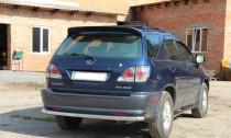 Erkul  Защита заднего бампера Lexus RX 1 дуга