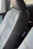 Автомобильные чехлы в салон Тойота Камри 50 (чехлы Toyota Camry