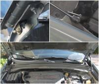EURO UPOR Газовый упор капот Jeep Renegade полный комплект