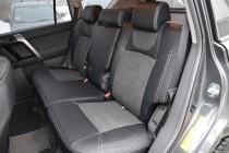 Автомобильные чехлы для авто Тойота Прадо 150 (чехлы Toyota Prad