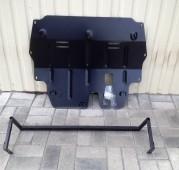 купить Защиту двигателя Skoda Fabia 2 (защита картера Шкода Фаби