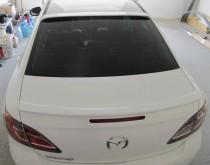 Установка накладки спойлера на заднее стекло Мазда 6 в кузове GH