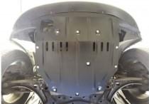 Защита двигателя Джип Компас 1 увеличенная (защита картера Jeep Compass 1)