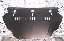Titan Защита картера Митсубиси Лансер 10 (защита двигателя Mitsubishi Lancer 10)