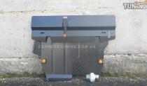 Защита двигателя Митсубиси Аутлендер 1 (защита картера Mitsubishi Outlander 1)