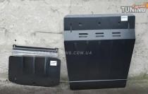 Защита двигателя Митсубиси Паджеро Вагон 4 (защита картера Mitsubishi Pajero Wagon 4)