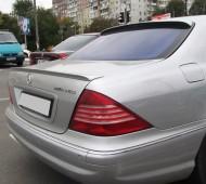 Установка заднего спойлера на Mercedes W220 (фото, ExpressTuning