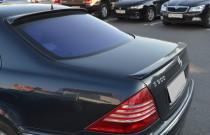 Задний лип спойлер Mercedes W220 (на крышку багажника)