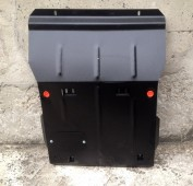 Защита двигателя Nissan Navara D40 (защита каретра и радиатора Ниссан Навара Д40)