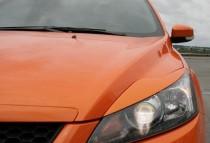 Реснички на фары Форд Фокус 2 рестайлинг (накладки декоративные