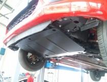 Защита картера Пежо 107 (защита двигателя Peugeot 107)