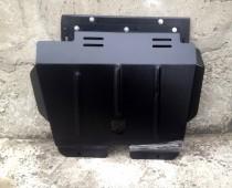 Защита поддона двигателя на Пежо 206 (защита картера Peugeot 206)