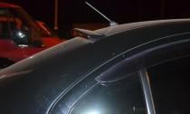 Тюнинг спойлер-бленда на стекло Mitsubishi Lancer X (фото, Expre