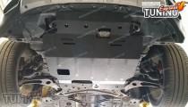 Защита картера Пежо 4007 (защита двигателя Peugeot 4007 под бампер)