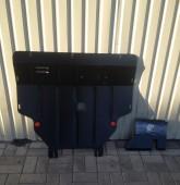 Защита двигателя Рено Трафик 2 (защита картера Renault Trafic 2)