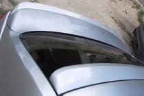 Оригинальный задний козырек на стекло Nissan Tiida 4d (фото, Exp
