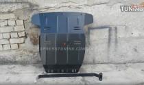 Защита двигателя Фольксваген Амарок (защита картера Volkswagen Amarok)