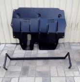 заказать Защиту двигателя Volkswagen Polo 5 (защита картера Фоль