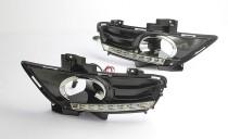 Дневные ходовые огни Форд Мондео 5 (ДХО для Ford Mondeo 5 DRL)