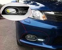 Дневные ходовые огни Хонда Цивик 9 Хэтчбек (ДХО для Honda Civic 9 5D DRL)