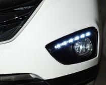 Дневные ходовые огни Хендай ix35 (ДХО для Hyundai ix35 DRL)