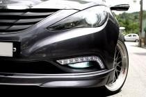 Дневные ходовые огни Хендай Соната 6 (ДХО Hyundai Sonata 6 YF для DRL)