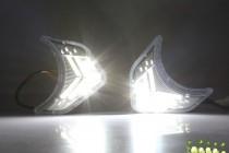 LED-DRL Дневные ходовые огни Киа Соренто 2 (ДХО для Kia Sorento 2 DRL)