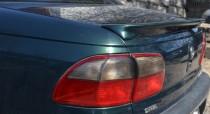 Лип спойлер накладка на крышку багажника Opel Omega B (установка