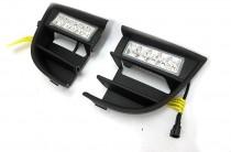 LED-DRL Дневные ходовые огни c противотуманными фарами DRL для Шкода Октавия А5