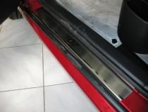 Накладки на пороги Пежо 307 (защитные накладки Peugeot 307)