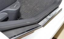 Накладки на пороги Пежо 308 (защитные накладки Peugeot 308)