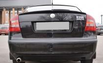 Тюнинг спойлер на багажник Skoda Octavia A5 (лип спойлер Октавия