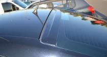 Прилегающий задний козырек на стекло Skoda Octavia A5 (фото Expr