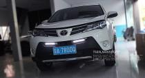 Ходовые огни DRL Toyota RAV4 4 (ДРЛ Тойота РАВ-4 4 с 2013г)