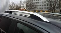 Рейлинги на Фольксваген Амарок  Crown алюминий (рейлинги Volkswagen Amarok)