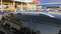 Рейлинги на Митсубиси АСХ модель Crown алюминий (рейлинги Mitsubishi ASX)