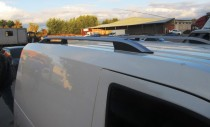 Рейлинги Форд Транзит Коннект Crown алюминий (рейлинги на крышу Ford Connect)