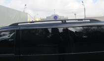 Рейлинги Мерседес Вито 638 Crown алюминий (рейлинги на крышу Mercedes Vito W638)