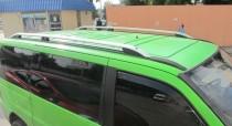 Рейлинги на Мерседес Вито 638 Crown алюминий (рейлинги Mercedes Vito W638)