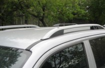 Рейлинги на Мицубиси Л200 Crown алюминий (рейлинги Mitsubishi L200)
