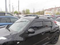 Рейлинги Ниссан Жук Crown алюминий (рейлинги на крышу Nissan Juke)