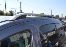 Рейлинги на Пежо Партнер 2  Crown алюминий (рейлинги Peugeot Partner 2)