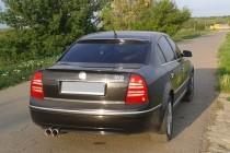 Купить лип спойлер Miloteс на Шкоду Суперб 1 поколения (2002-200