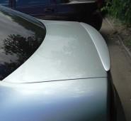 Накладка на крышку багажника Шкода Суперб 1 (задний лип спойлер