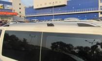 Рейлинги на Фольксваген Транспортер Т5 Crown алюминий (рейлинги Volkswagen Transporter T5)