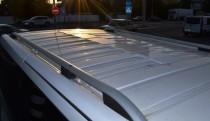Can Otomotiv Рейлинги на Опель Виваро  Crown алюминий (рейлинги Opel Vivaro)