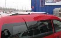 Рейлинги на Фольксваген Кадди Crown алюминий (рейлинги Volkswagen Caddy)