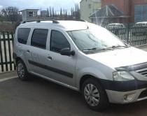 Рейлинги Дачия Логан универсал концевик пластик (рейлинги на крышу Dacia Logan MCV)