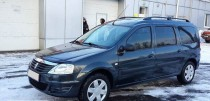 Рейлинги на крышу Рено Логан универсал (рейлинги Renault Logan MCV концевик.метал.)